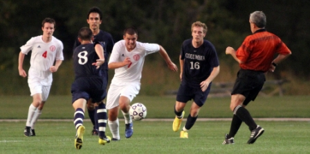 50th Men's Soccer vs. Columbia College Photo