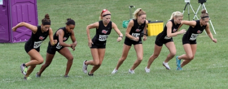 3rd Women's Cross Country at Central Invitational Photo