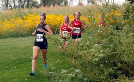 5th Women's Cross Country at Central Invitational Photo