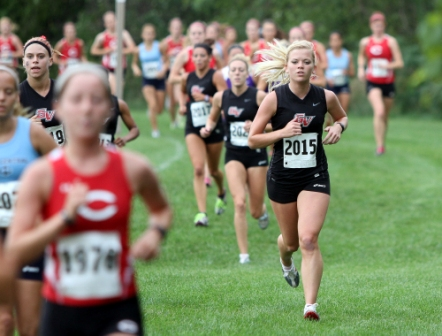 18th Women's Cross Country at Central Invitational Photo
