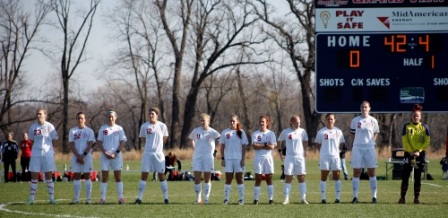 9th Women's Soccer vs. St. Ambrose (cont.) Photo