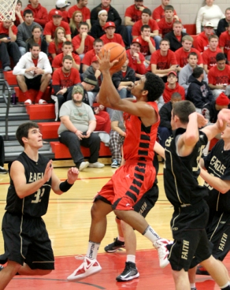 34th Men's Basketball vs. Faith Baptist Bible College Photo