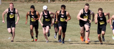 15th Men's Cross Country at Central Invite Photo