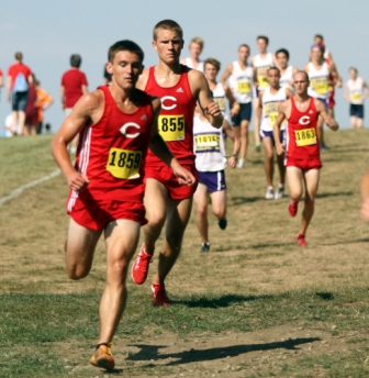 17th Men's Cross Country at Central Invite Photo