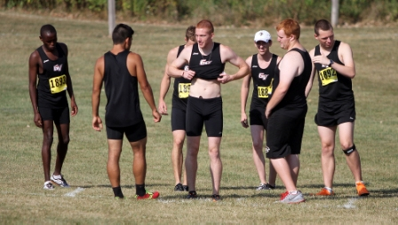 23rd Men's Cross Country at Central Invite Photo