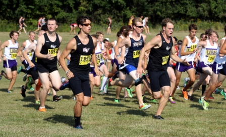 26th Men's Cross Country at Central Invite Photo
