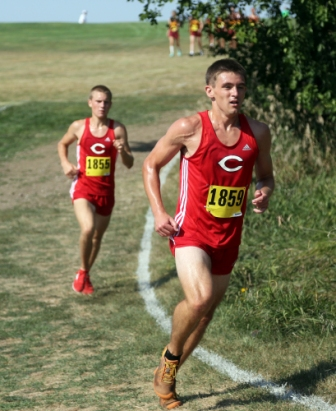 34th Men's Cross Country at Central Invite Photo