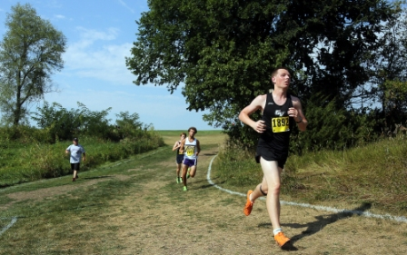 35th Men's Cross Country at Central Invite Photo