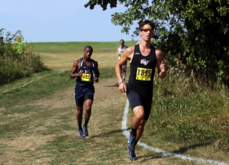 36th Men's Cross Country at Central Invite Photo