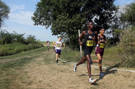 43rd Men's Cross Country at Central Invite Photo