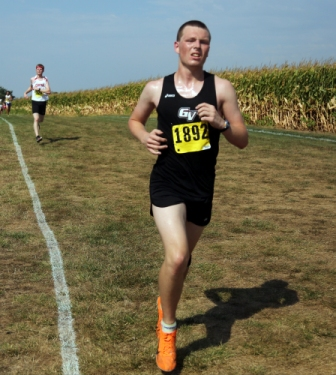 45th Men's Cross Country at Central Invite Photo