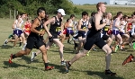 28th Men's Cross Country at Central Invite Photo