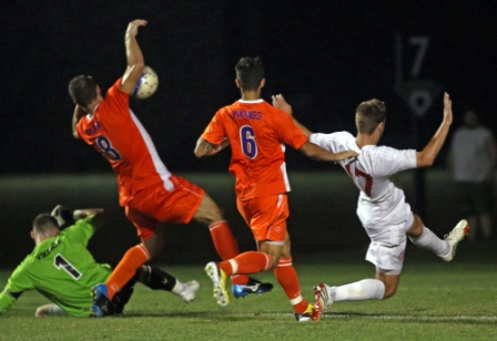 2nd Men's Soccer vs. Missouri Valley College (cont. 1) Photo