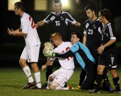 22nd Men's Soccer vs. Ashford University (cont.) Photo