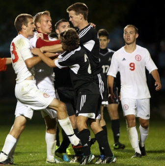 38th Men's Soccer vs. Ashford University (cont.) Photo