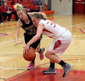 16th Women's Basketball vs. Dordt Photo