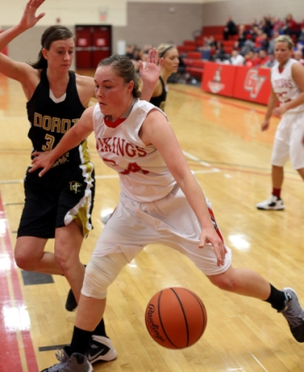 18th Women's Basketball vs. Dordt Photo