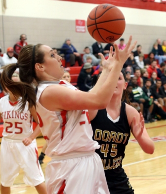 22nd Women's Basketball vs. Dordt Photo