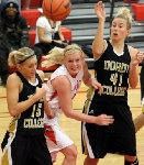 49th Women's Basketball vs. Dordt Photo