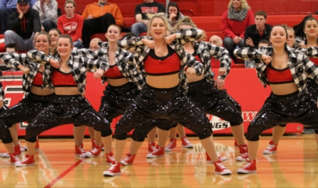 12th Halftime Dance Photo