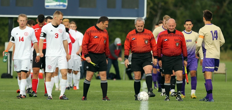 2nd Men's Soccer vs. Mt. Olivet Photo