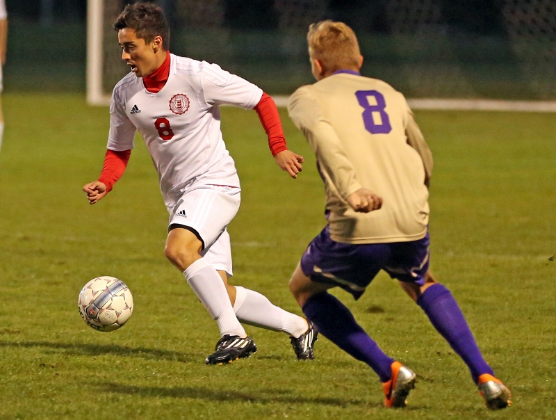 9th Men's Soccer vs. Mt. Olivet Photo