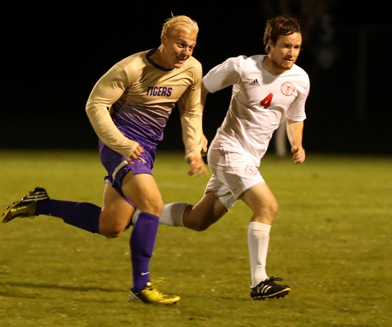 14th Men's Soccer vs. Mt. Olivet Photo