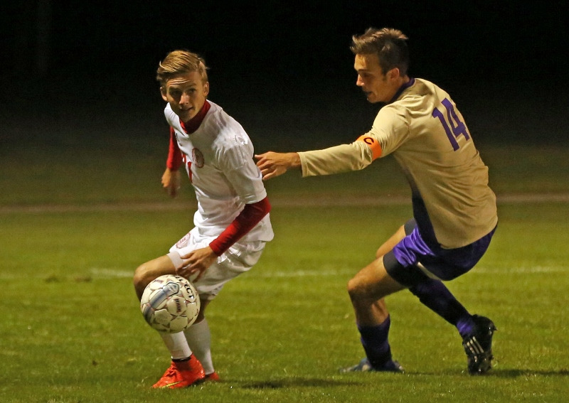 16th Men's Soccer vs. Mt. Olivet Photo