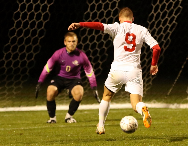 20th Men's Soccer vs. Mt. Olivet Photo