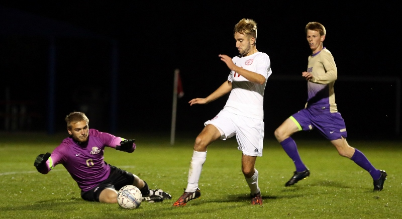 27th Men's Soccer vs. Mt. Olivet Photo