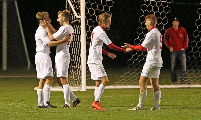 42nd Men's Soccer vs. Mt. Olivet Photo