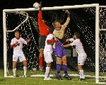 40th Men's Soccer vs. Mt. Olivet Photo