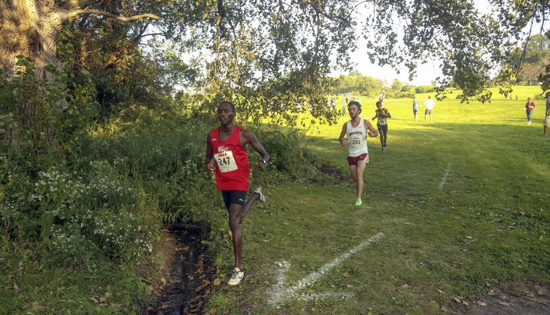 1st Men's Cross Country @ Grand View Invite Photo
