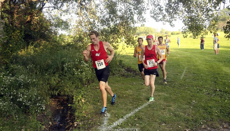2nd Men's Cross Country @ Grand View Invite Photo