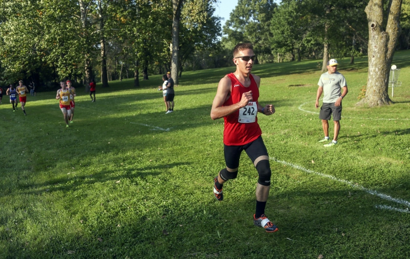 42nd Men's Cross Country @ Grand View Invite Photo
