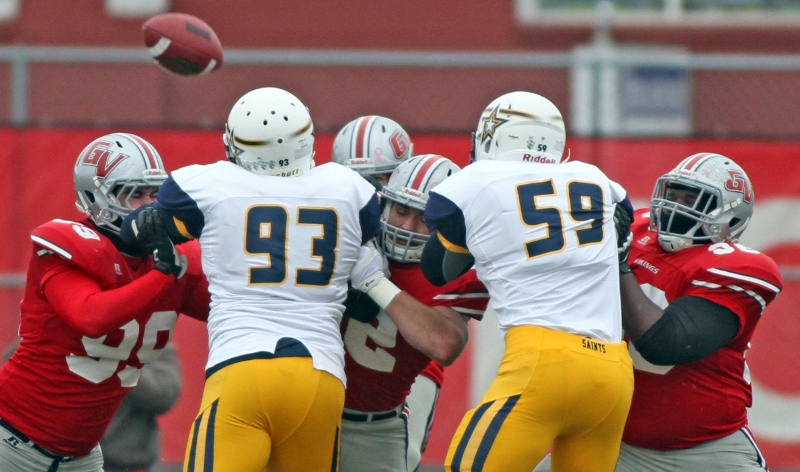 32nd Football vs. Sienna Heights Photo