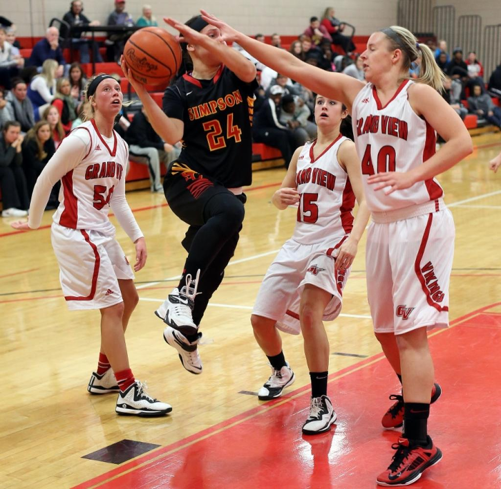 7th Women's Basketball vs. Simpson College Photo