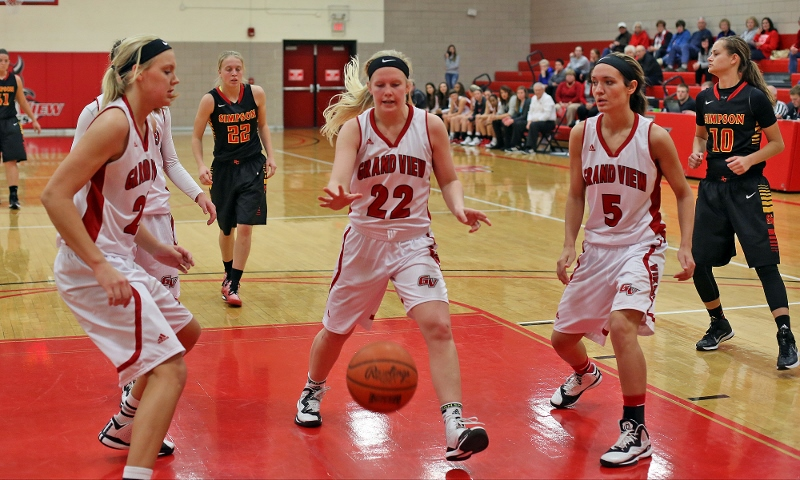 22nd Women's Basketball vs. Simpson College Photo
