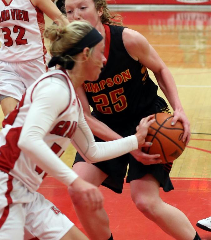 25th Women's Basketball vs. Simpson College Photo