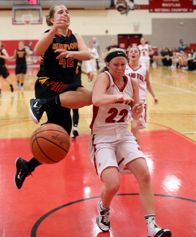 33rd Women's Basketball vs. Simpson College Photo