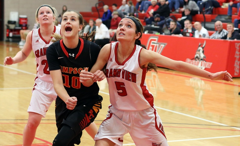 34th Women's Basketball vs. Simpson College Photo