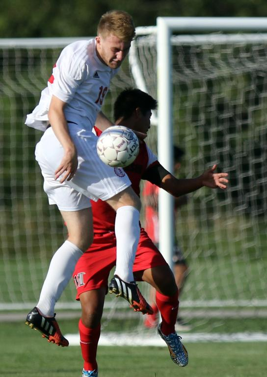22nd Men's Soccer vs. McPerson cont. Photo
