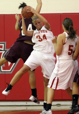 8th Women's Basketball vs Morningside Photo