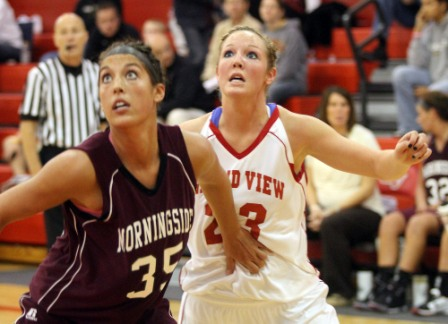 45th Women's Basketball vs Morningside Photo